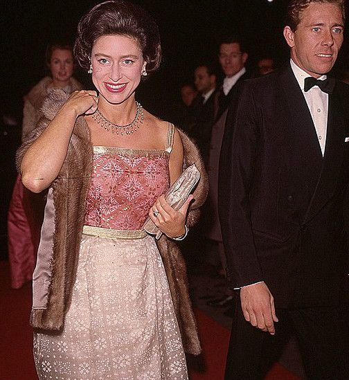Princess Margaret And Her Husband Earl And Countess Of Snowdon