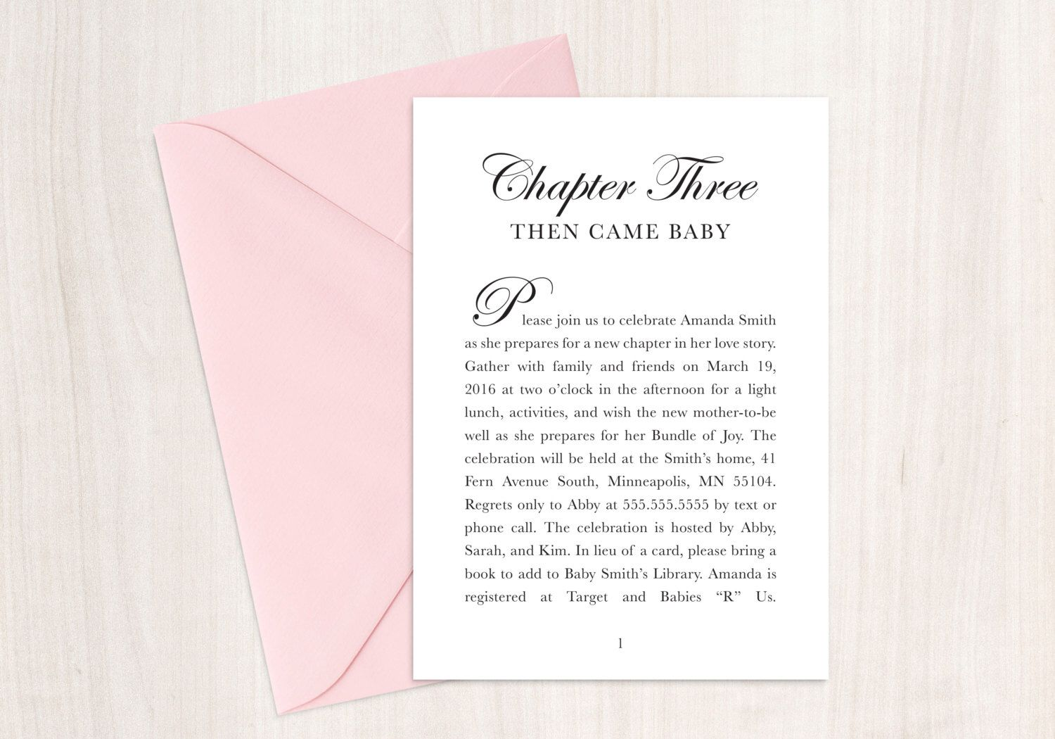 Fairytale Baby Shower Invitation, Book theme shower, Story Book ...