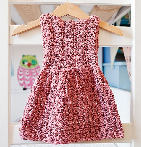 Scalloped Neckline Lace Dress (baby, toddler, child sizes) by mon petit violon, via Flickr