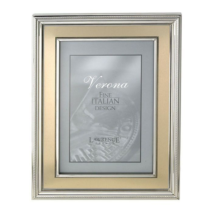 Brushed Gold Inner Panel Metal Picture Frame | Metals, Gold and Products