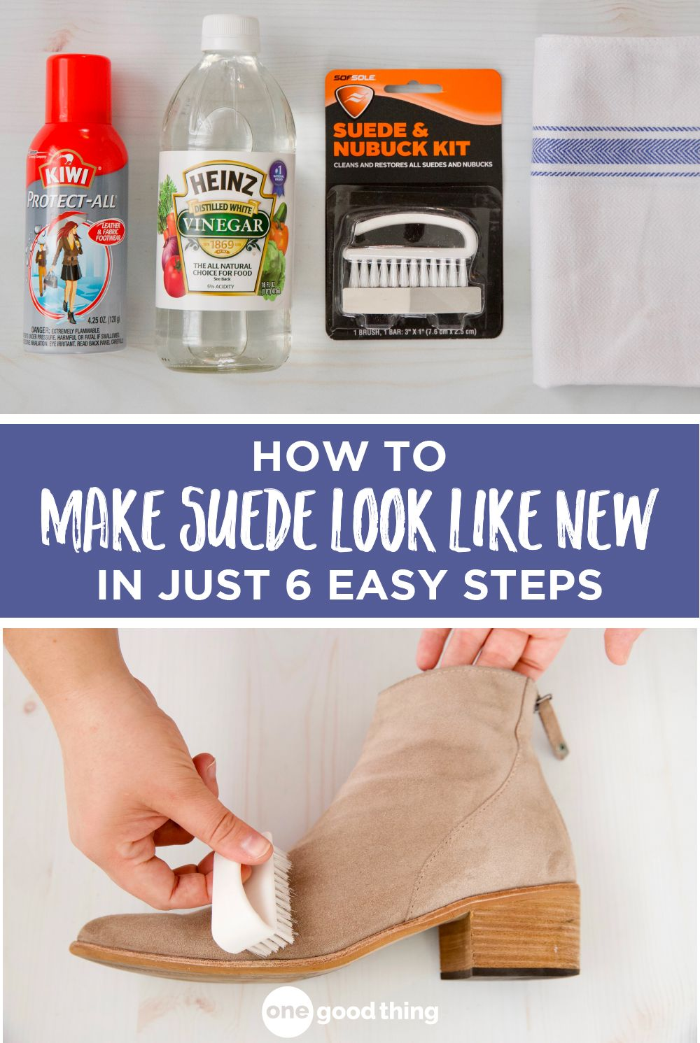 How to Clean Suede Shoes the Easy Way | How to clean suede