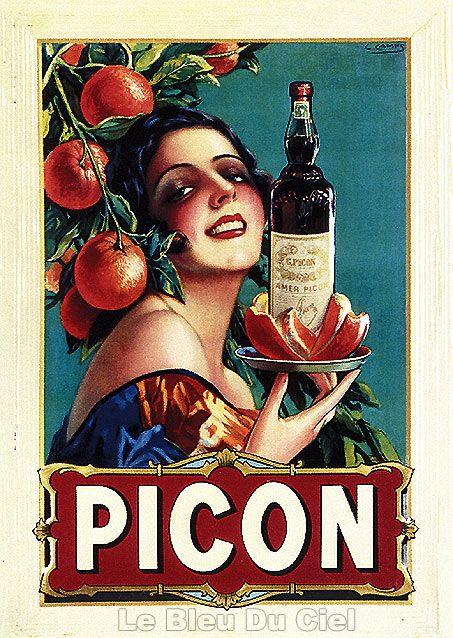 Souvent Affiches et plaques publicitaires anciennes | Bistrot | Pinterest  JS97