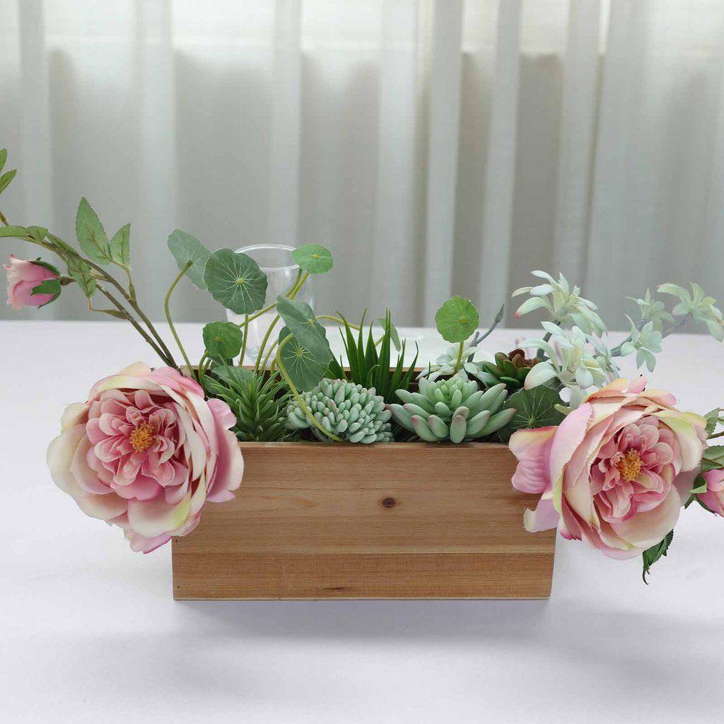plastic flower planter boxes