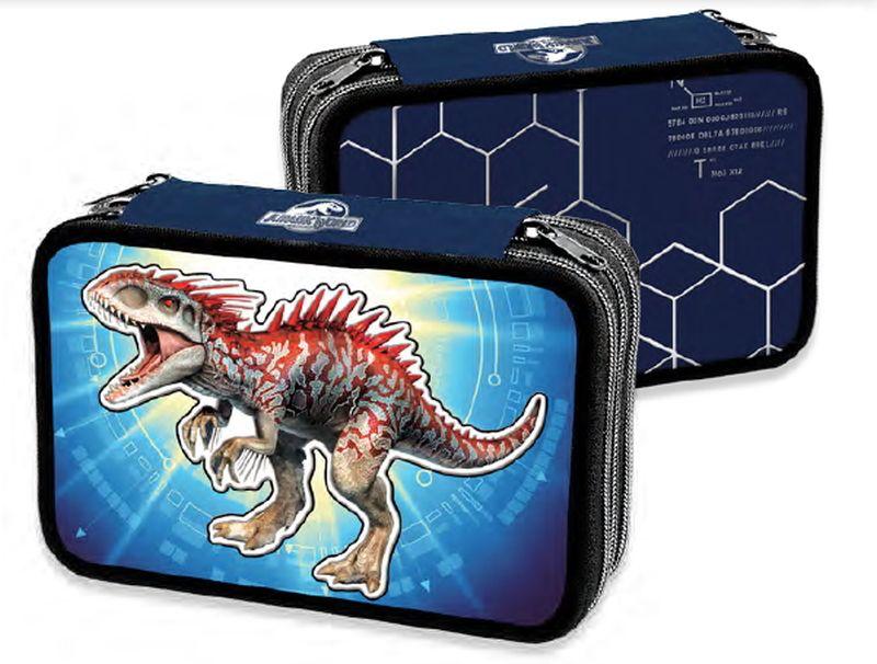 miglior sito web 8c27f 47555 Astuccio Tre Piani Jurassic World | Jurassic park/world ...