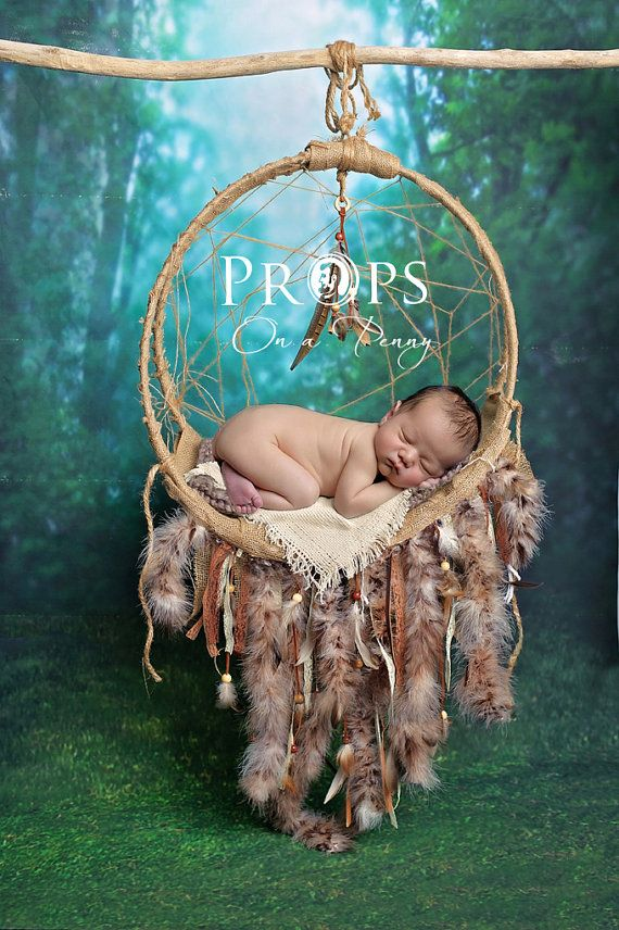 Newborn Dreamcatcher Prop Newborn Dream Catcher Newborn