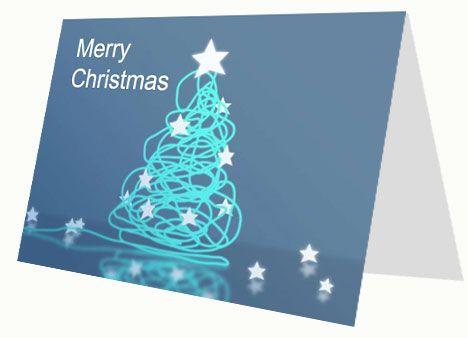 DIY Christmas Corporate Christmas Card I have a cool job - free xmas card template