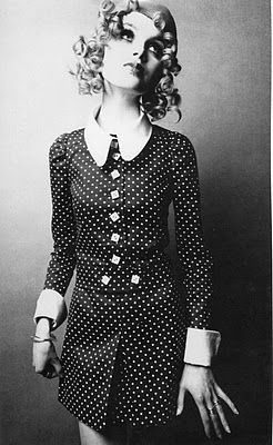 Twiggy Possibly A Mary Quant Dress Love