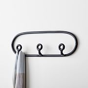 SIN Ceramic Trio Coat Rack - Black#black #ceramic #coat #rack #sin #trio