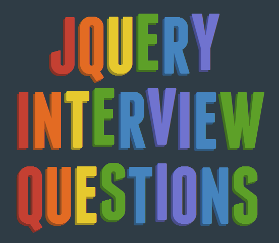 Latest jQuery interview questions and answers Interview