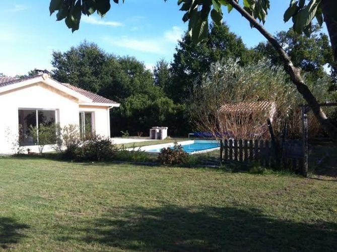 VENTE BELLE MAISON CONTEMPORAINE AVEC PISCINE LEGE CAP FERRET BASSIN - location maison cap ferret avec piscine