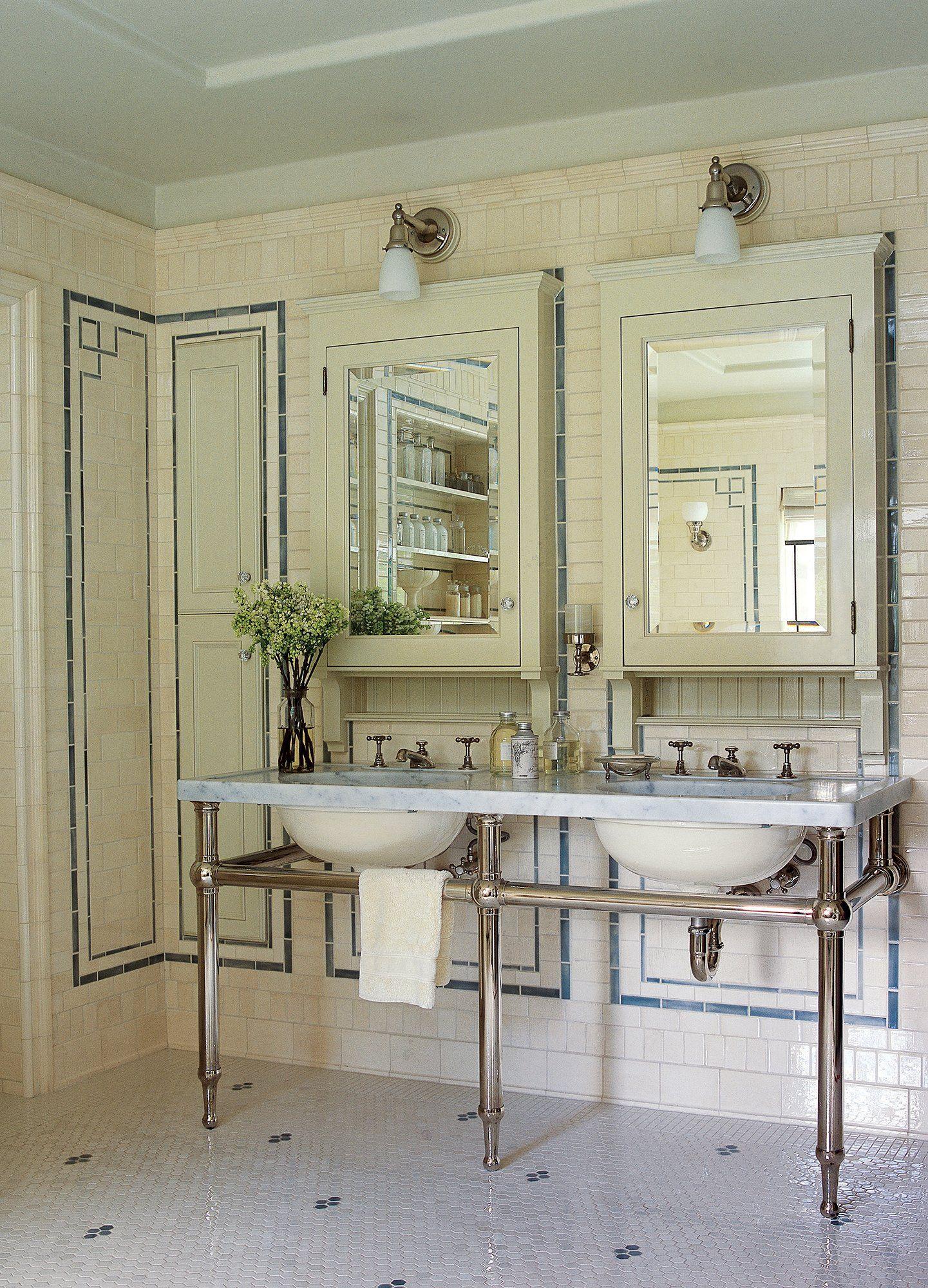 Zoolander Set Designers Take Us Inside Hansel S House Roman And Williams Tile Trim Retro Tiles