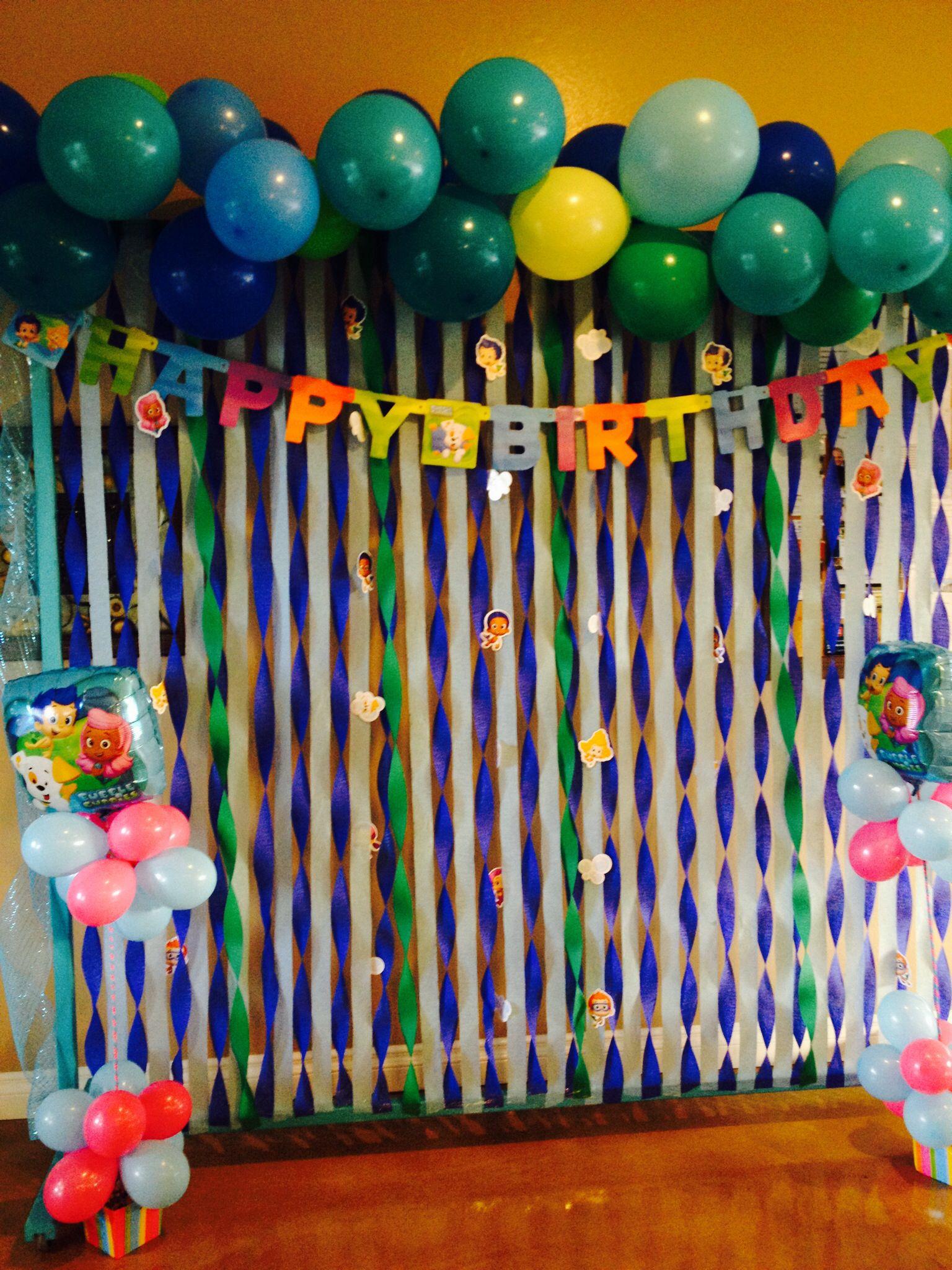 Bubble guppies decoration birthday pinterest bubble guppies decorations bubble guppies - Bubble guppies party favors ideas ...
