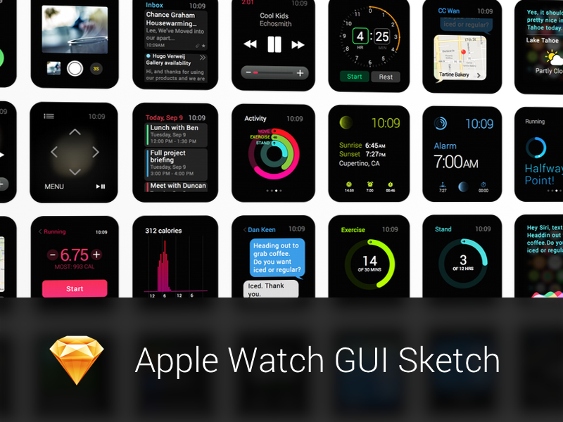 apple watch gui sketch the kit apple watch and sketches