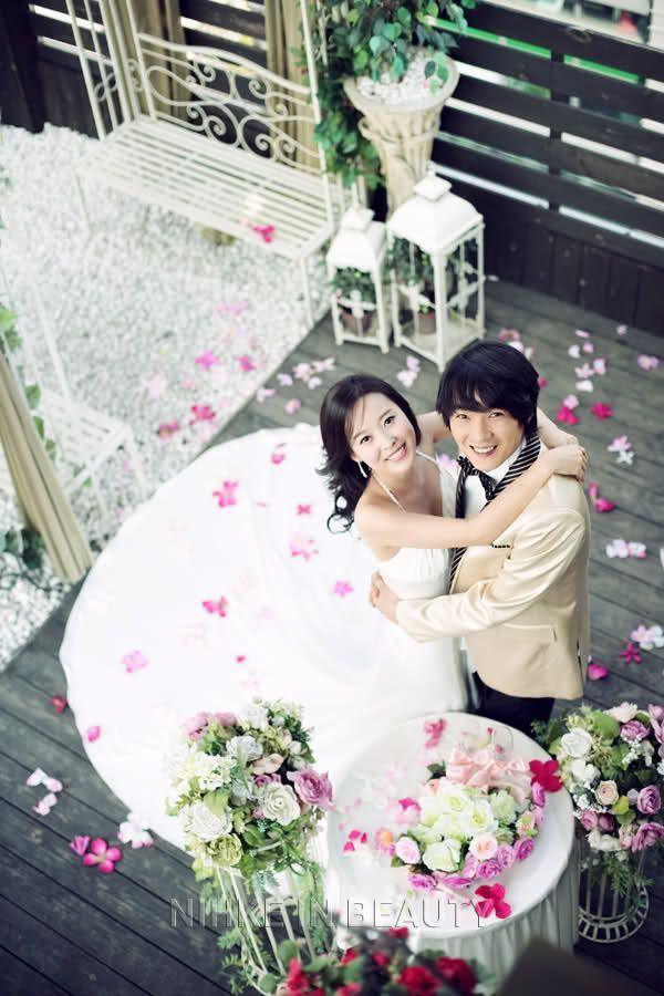 Kim Jung-Hyun (actor) & his bride