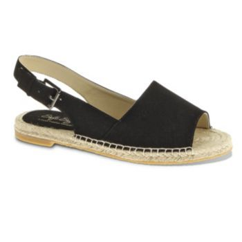 Soft Style By Hush Puppies Leah Wide Slingback Espadrilles Women Zapatos Verano Calzas Zapatos