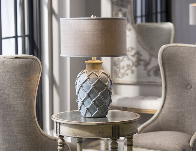 Parterre Pale Blue Table Lamp In 2021 Blue Table Table Lamp Blue Table Lamp