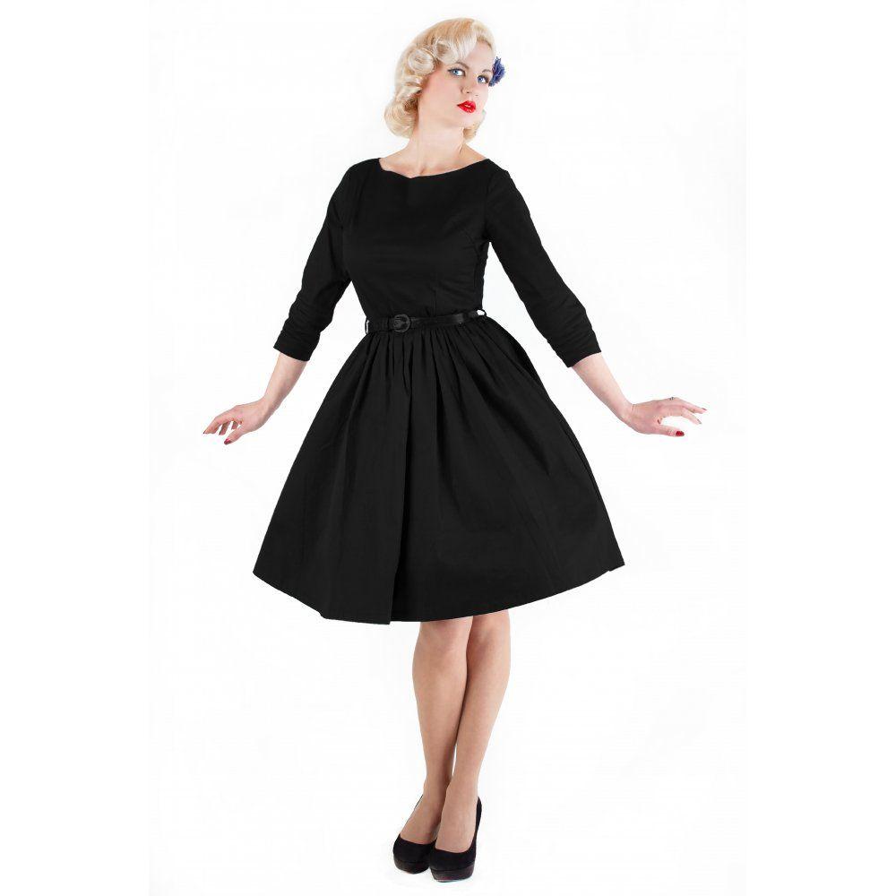 Vintage Inspired Black Dress