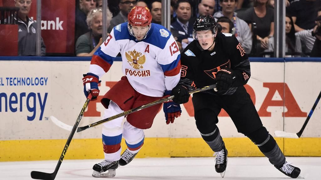 Pavel Datsyuk S Status For Semifinal Uncertain Hockey World Cup Team Canada Russia World Cup