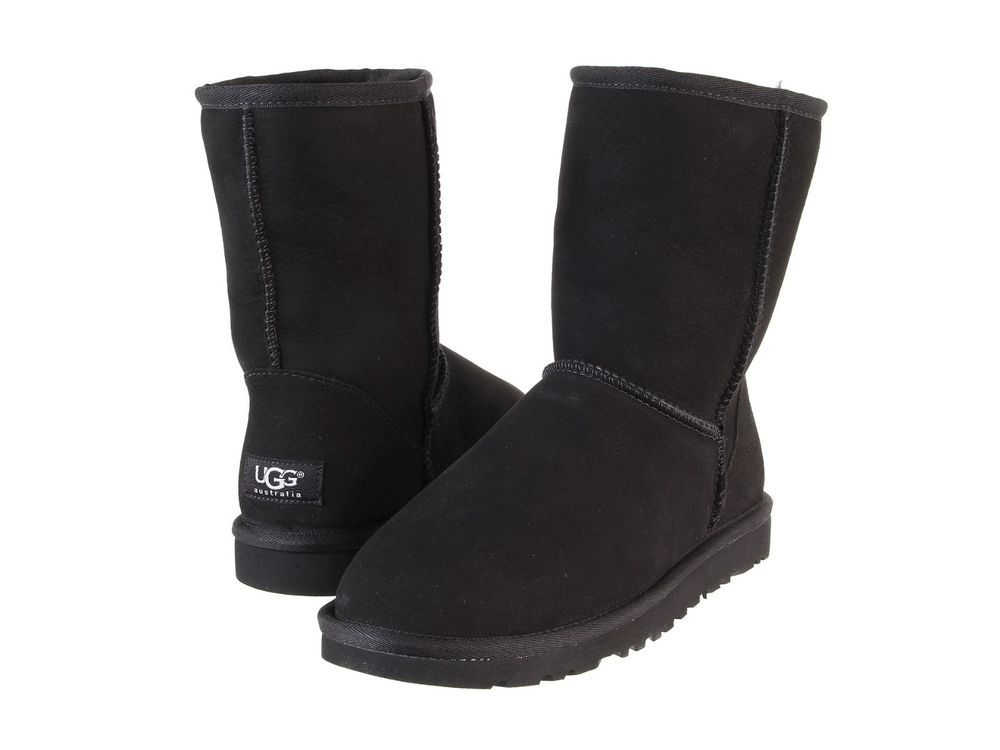 70f217b75f1 Details about UGG Women's Classic Short 2 II Boots 1016223 Black ...