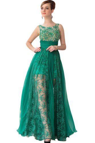 CharliesBridal Bateau Neck Floor Length Evening Dress with Sheer Skirt - M - Green CharliesBridal,http://www.amazon.com/dp/B00ASZ93PA/ref=cm_sw_r_pi_dp_k-JBrb2A85B84D99