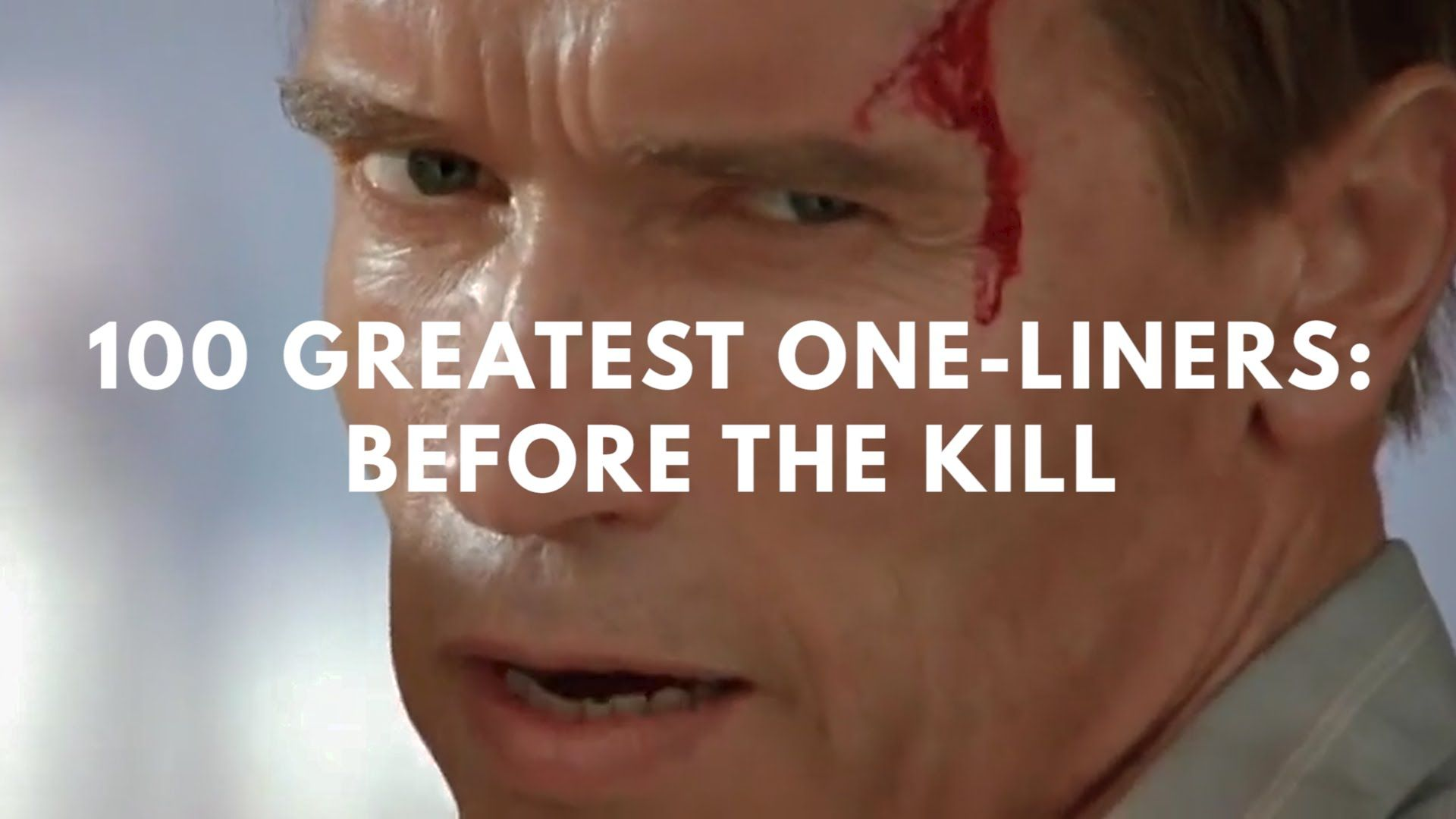 A Supercut Featuring Some of the Greatest Movie Lines Delivered Before a Kill