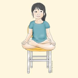 40 kidfriendly chair yoga poses  yoga para niños