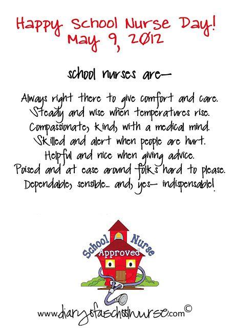 79e004246 Diary Of A School Nurse: National School Nurse Day!   school nurse ...