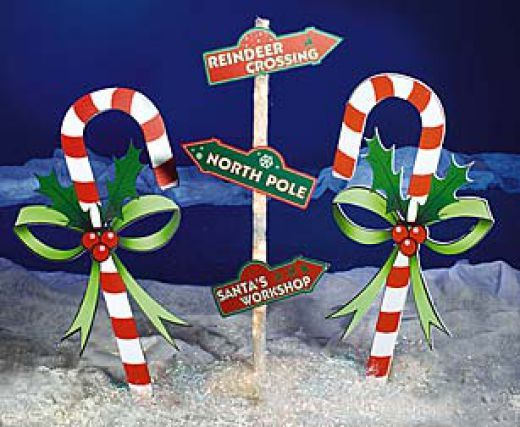 Outdoor Christmas Decorations Candy Canes Outdoor Christmas Decoration Ideas  Outdoor Christmas Christmas