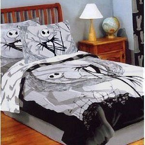 Jack The Skellington Bed Set Nightmare Before Christmas Bedding Nightmare Before Christmas Blanket Christmas Bedding