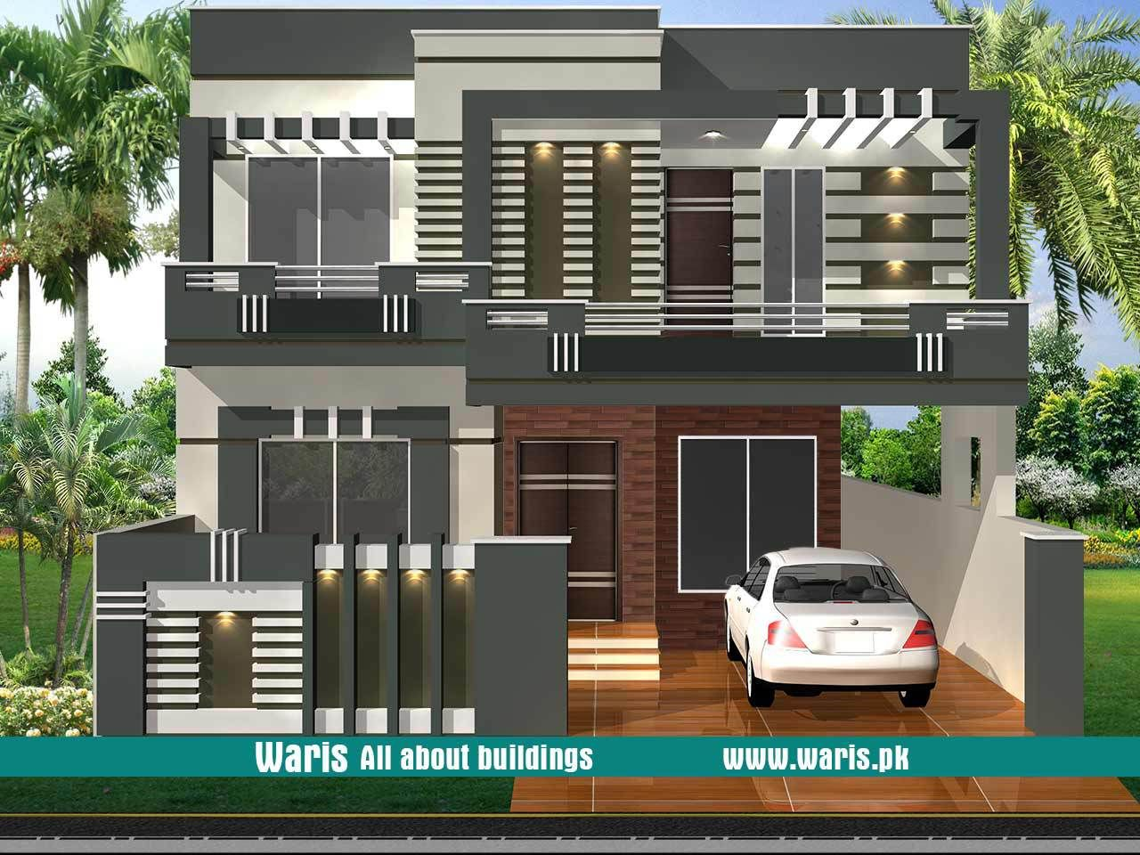 House front elevation design view interior images in pakistan marla kanal designs ideas pictures waris also best designing architecture home plans rh pinterest