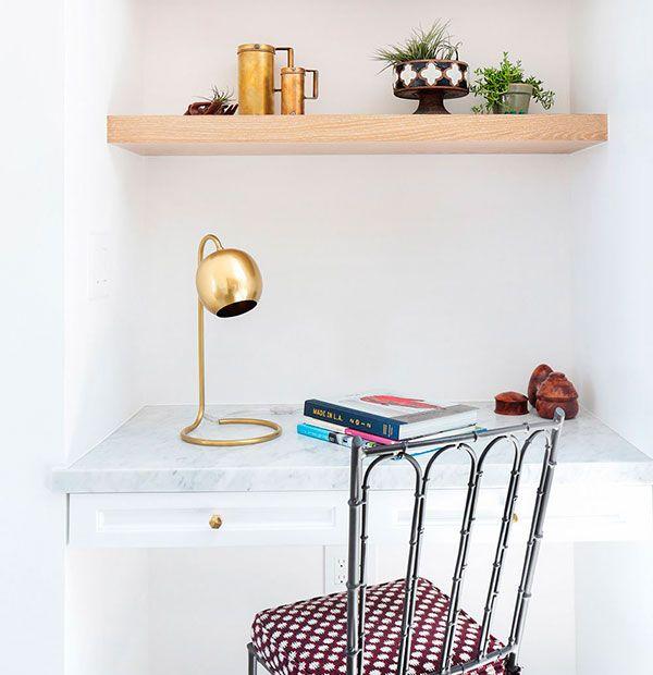 cuatro maneras de armar tu escritorio al paso