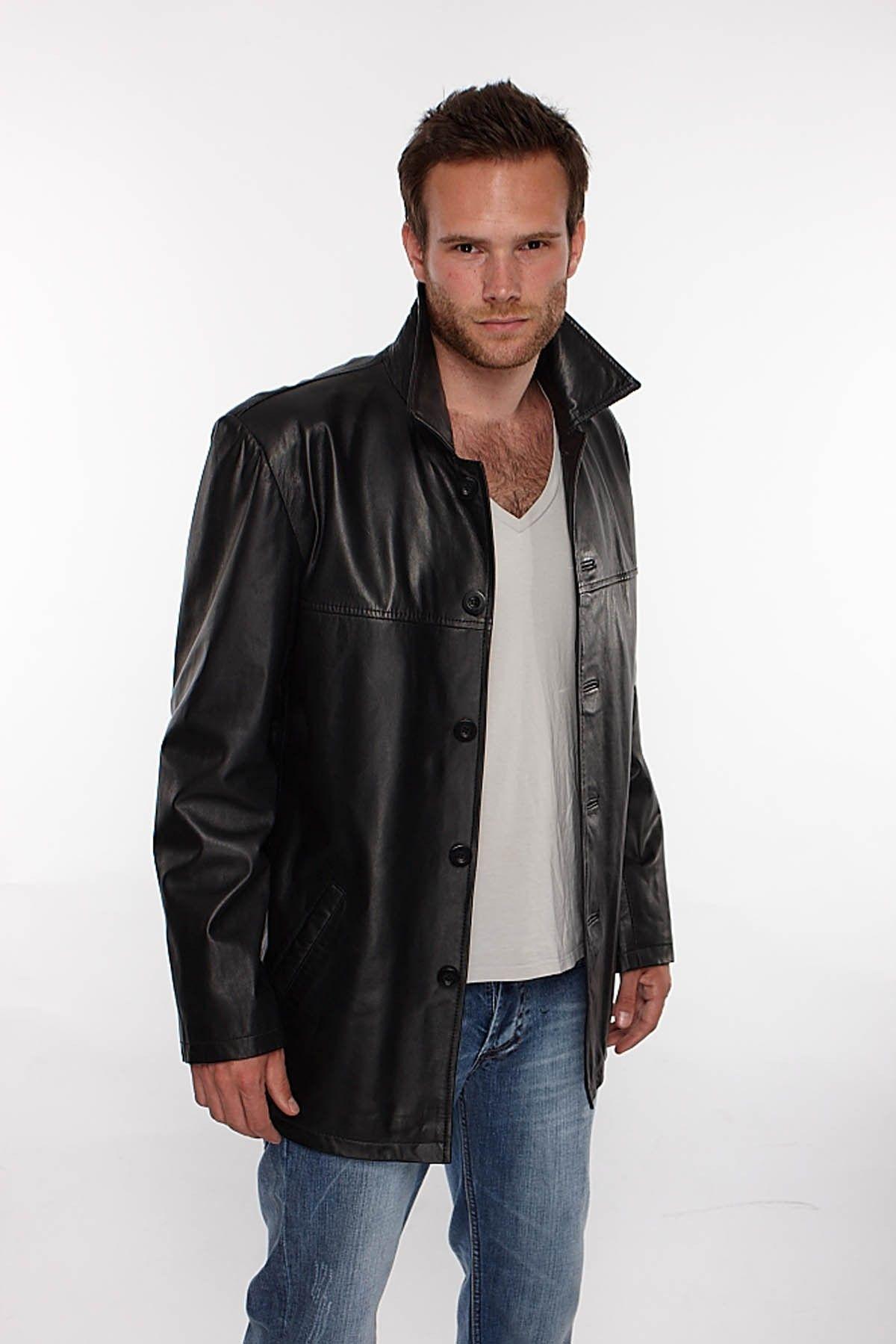 Leather jacket for men - Pin Mens Leather Blazer Excelled Jacket Men At Kohls On P