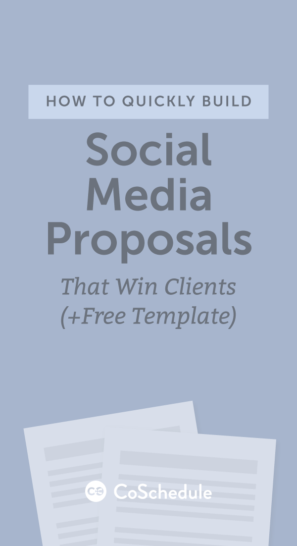 How To Quickly Build Social Media Proposals That Win Clients Free
