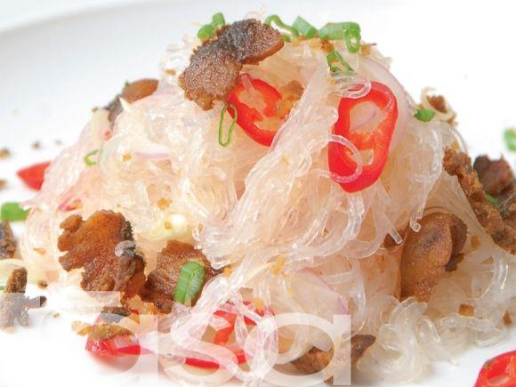 Kerabu Suhun Ikan Masin Food Asian Recipes Food Recipes