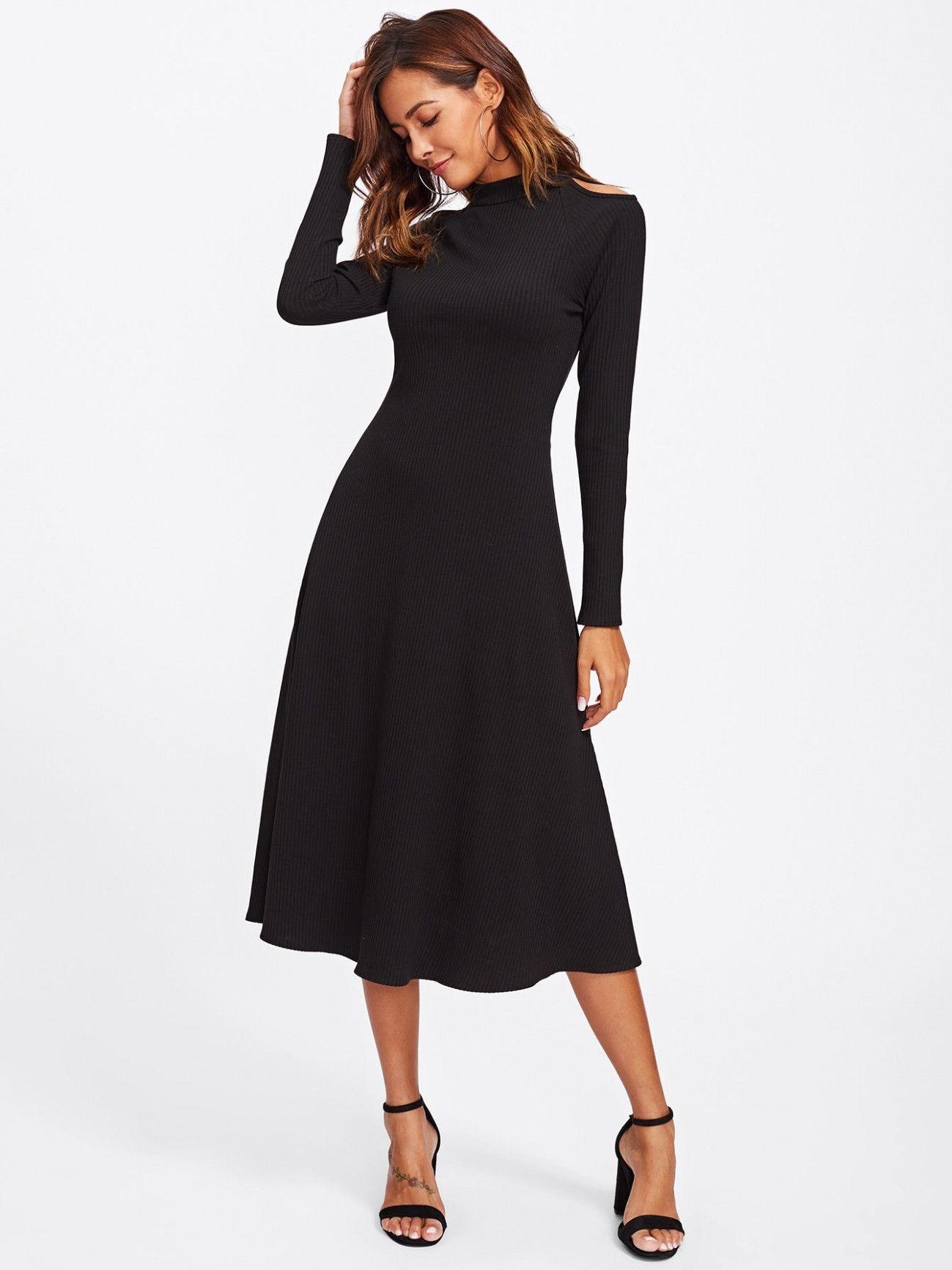 15 schwarzes langarm kleid | kleid spitze, kleid schwarz