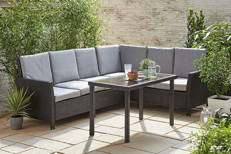 This Gorgeous Oregon Corner Set Is The Perfect Place To Wind Down With Family And Friends Idea Patio Furniture Sets Corner Sofa Table Outdoor Living