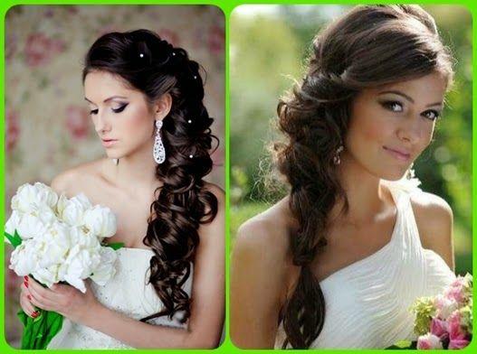 Brautfrisuren mittellange haare | Frisuren | Pinterest
