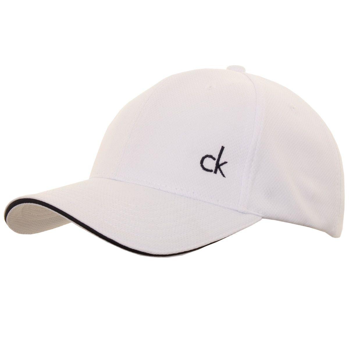 4e65a7d1447 Calvin Klein Golf 2016 Mens CK Airtex Adjustable Mesh Cap Baseball Hat
