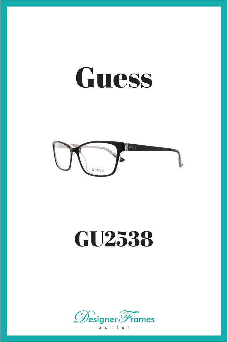 eaaeea0d13 Guess GU2538 Eyeglass Frames. Prescription Lenses available! Designer  Frames Outlet