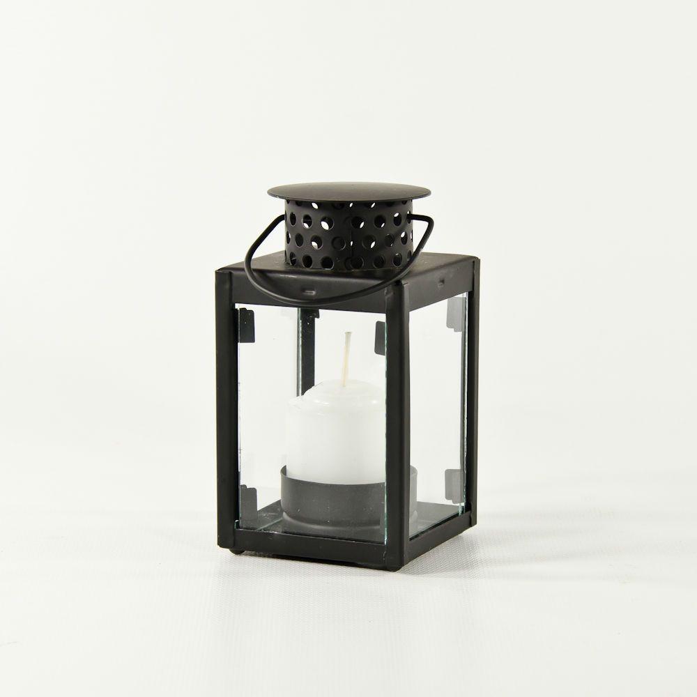 $3 Hanging Black Lantern Tealight or Votive Candle Holder. Wholesale ...