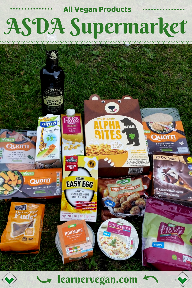All Vegan Products From Asda Supermarket Uk Some Good And Easy Meal Ideas Here Fentiman S Cola Quorn Vegan Supermarket Delicious Vegan Recipes Quorn Vegan