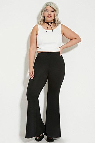 Plus Size Flared Pants in 2019 | Flare pants, Pants, Fashion