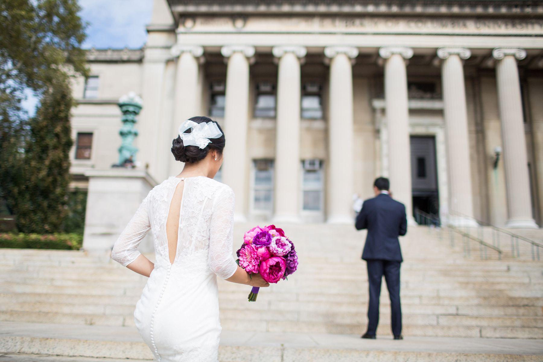 Ny nj nyc wedding photographer st paulus chapel columbia
