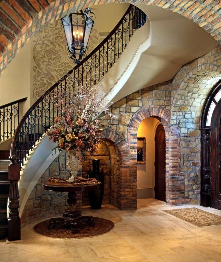 Dco cage escalier  50 intrieurs modernes et contemporains  CAGES DESCALIER  Tuscan house