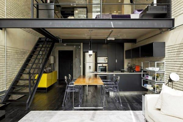 Modelos de Lofts Decorados e modernos Pinterest Lofts and Interiors