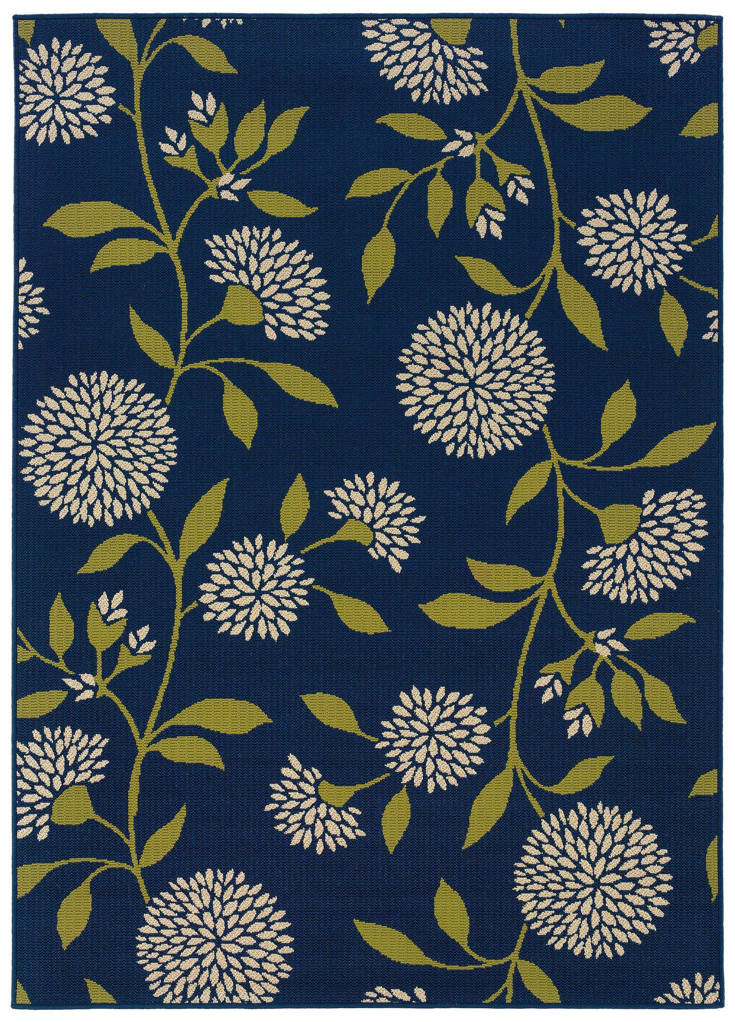 Oriental Weavers Caspian Blue Green Indoor Outdoor Rug Reviews