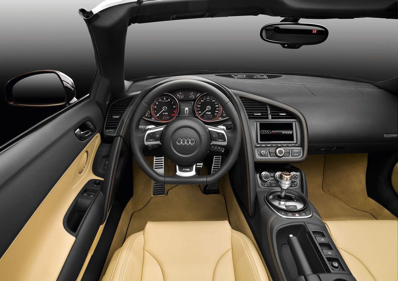 Captivating Audi R8 Spyder Interior | Review New Bikes And Cars: Audi Interior,audi R8