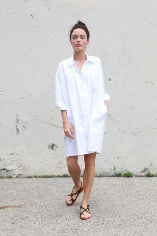 323509d61f9 Latest womens fashion found at www.originalbloom.com . Minimal Chic, White  Polo