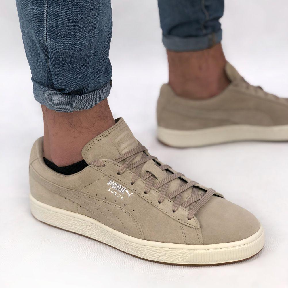 PUMA x Diamond Suede Sneaker 365650 02 | Leder sneaker, Puma