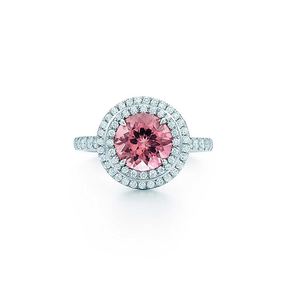 Tiffany Soleste®:sapphire And Diamond Ring